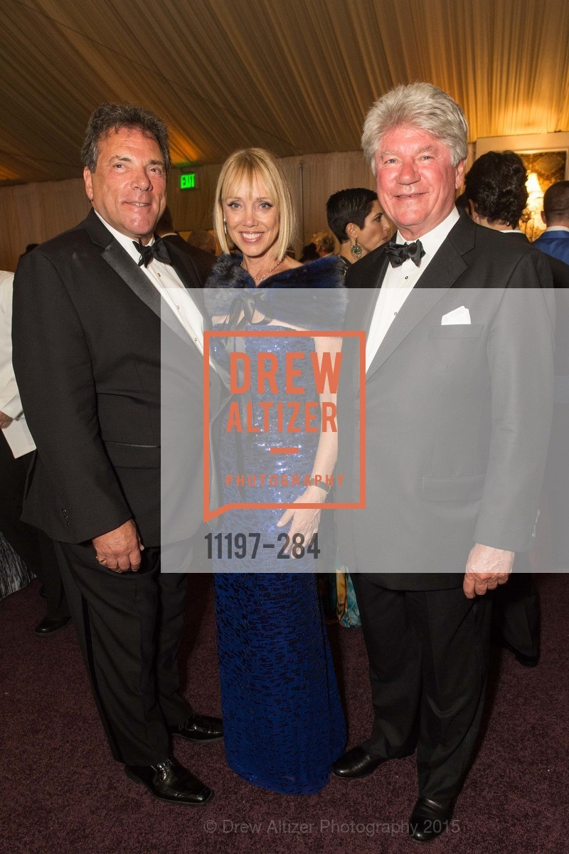 Lenny Eber, Diane Rubin, Eugene Kelly, Opera Ball 2015: Moonlight & Music, War Memorial Opera House. 301 Van Ness Ave, September 11th, 2015,Drew Altizer, Drew Altizer Photography, full-service event agency, private events, San Francisco photographer, photographer California