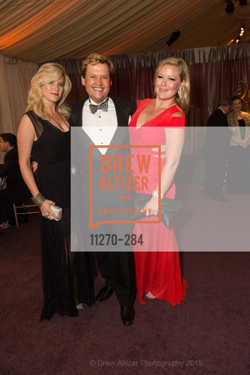 Stephanie Lawrence, Jonathan Tower, Liz Curtis, Opera Ball 2015: Moonlight & Music, War Memorial Opera House. 301 Van Ness Ave, September 11th, 2015,Drew Altizer, Drew Altizer Photography, full-service agency, private events, San Francisco photographer, photographer california
