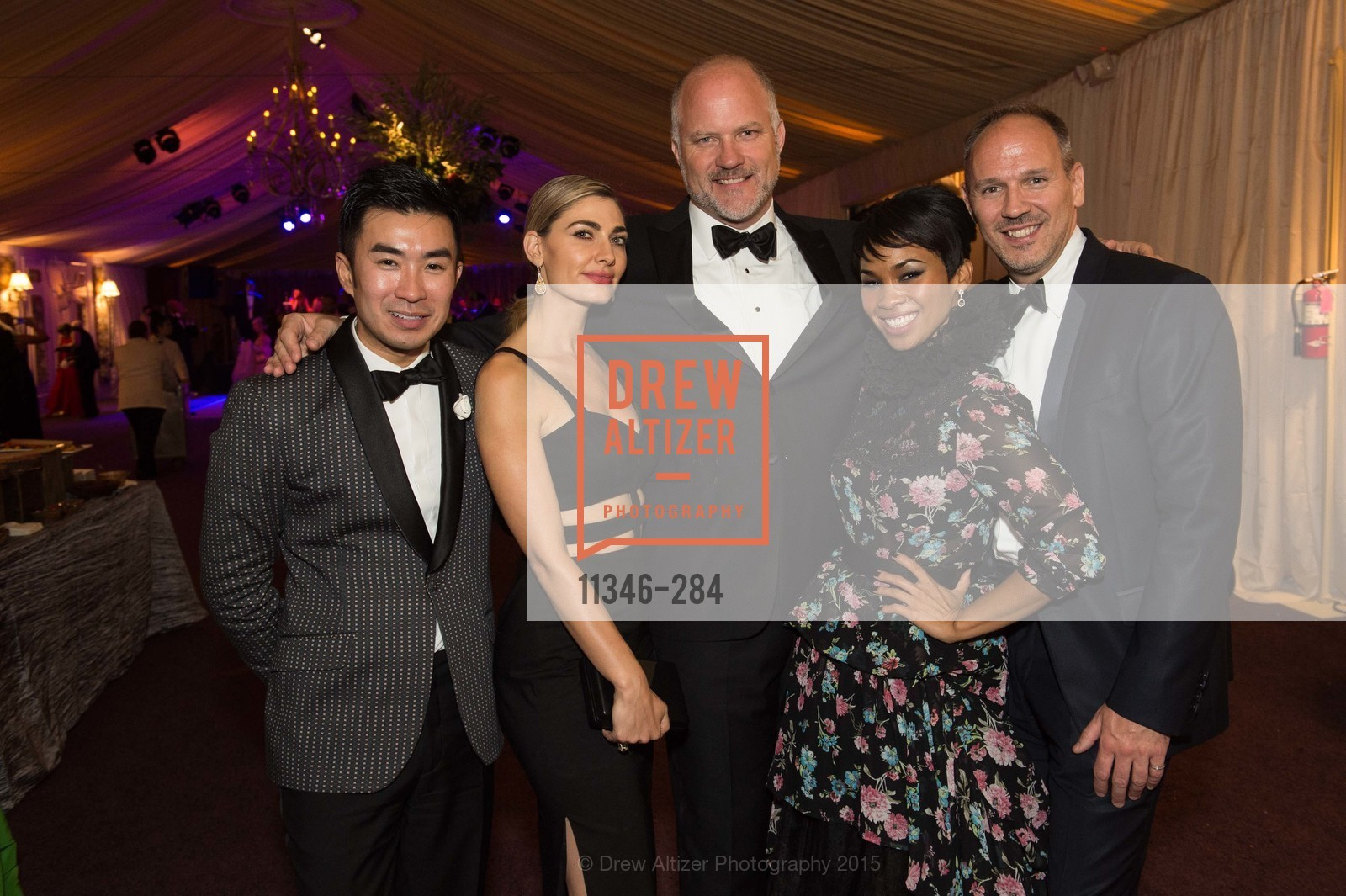 Kai Tan, Ellian Raffoul, Cliff Romig, Moanalani Jeffrey, Eric Ormsby, Opera Ball 2015: Moonlight & Music, War Memorial Opera House. 301 Van Ness Ave, September 11th, 2015,Drew Altizer, Drew Altizer Photography, full-service agency, private events, San Francisco photographer, photographer california