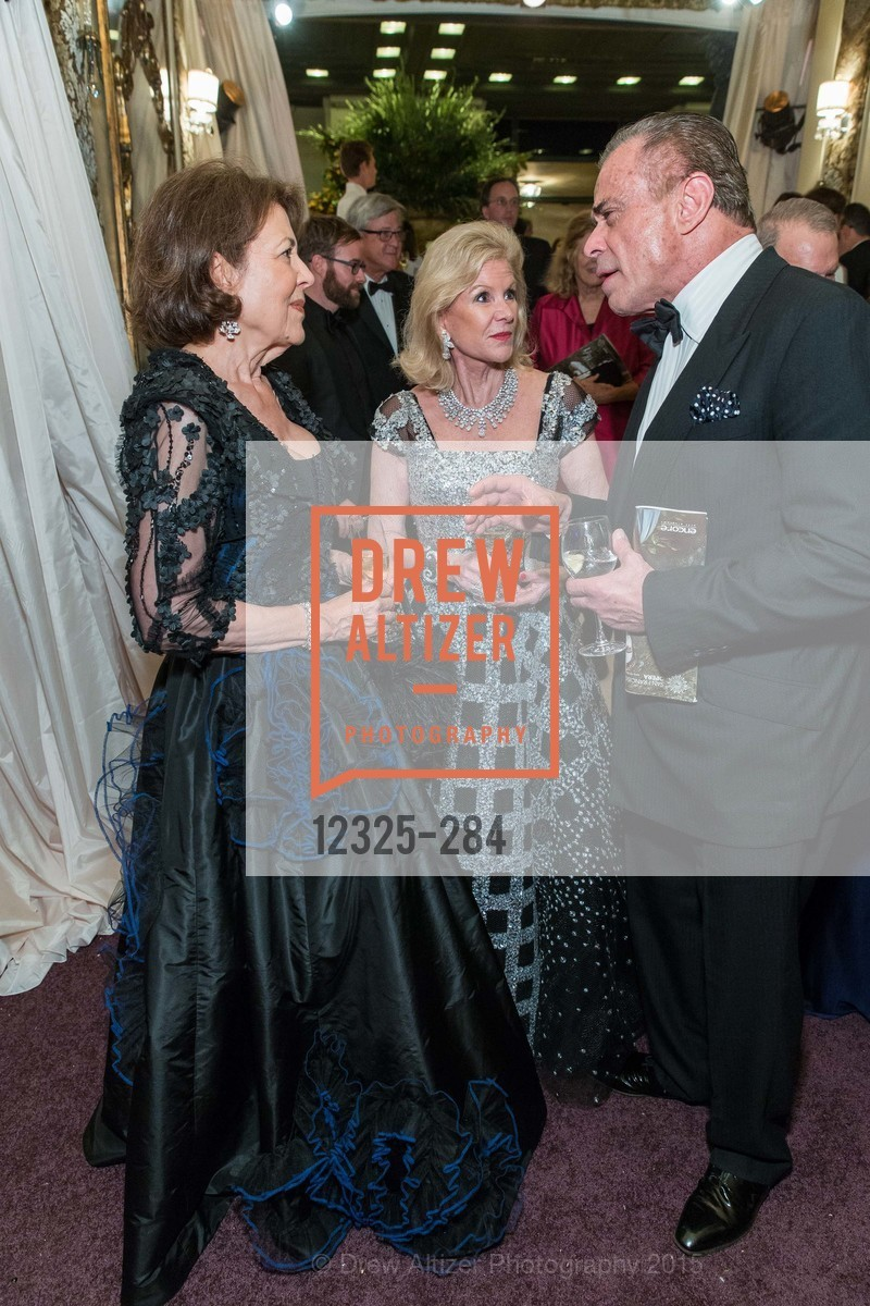 Linda Kemper, Dede Wilsey, Boaz Mazor, Opera Ball 2015: Moonlight & Music, War Memorial Opera House. 301 Van Ness Ave, September 11th, 2015,Drew Altizer, Drew Altizer Photography, full-service agency, private events, San Francisco photographer, photographer california
