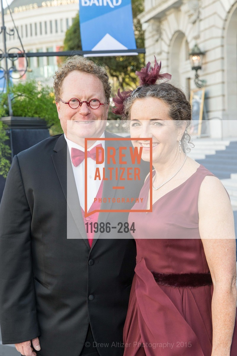 Ed Frank, Sarah Ratchye, Opera Ball 2015: Moonlight & Music, War Memorial Opera House. 301 Van Ness Ave, September 11th, 2015