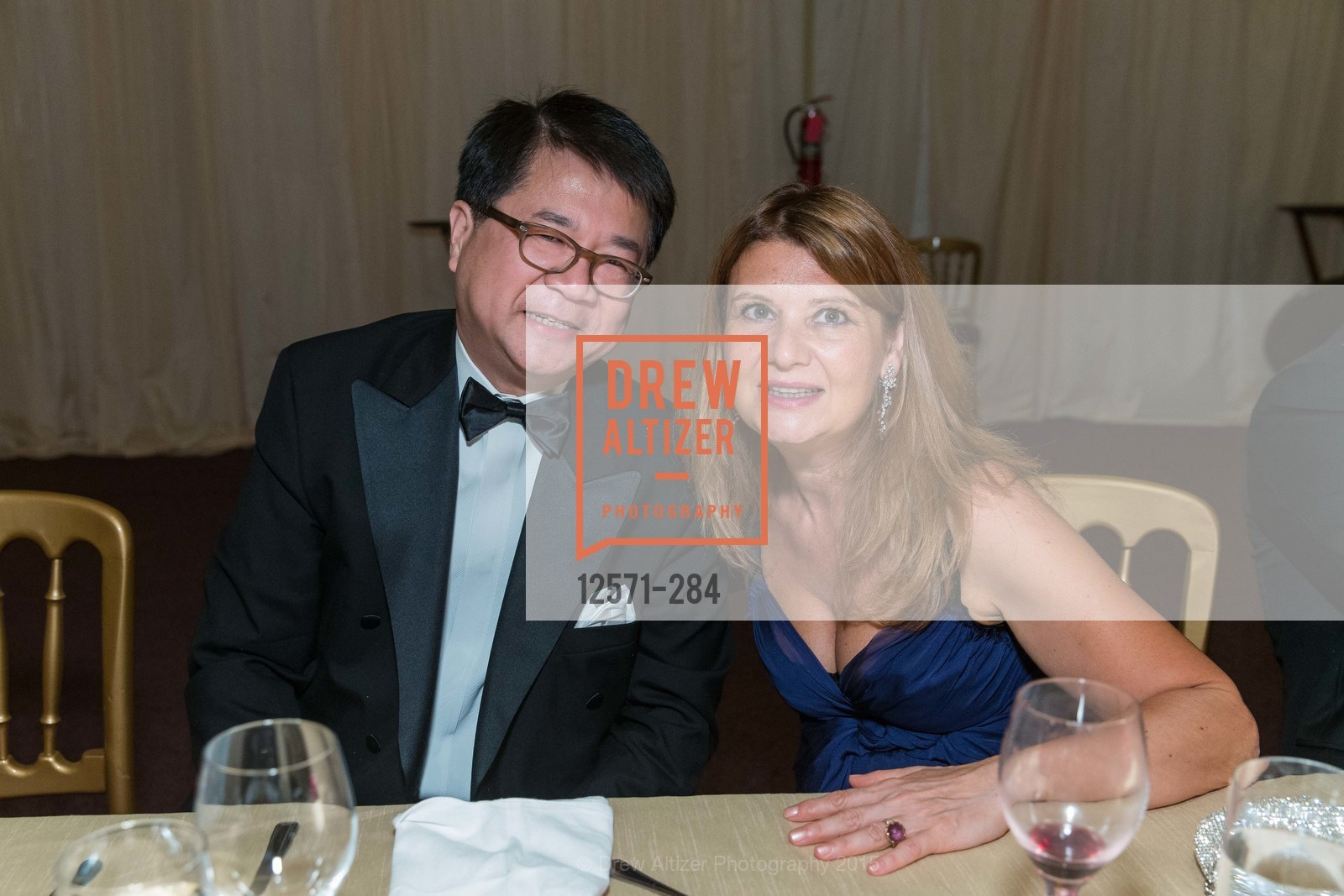 William Wong, Rita Simonini, Opera Ball 2015: Moonlight & Music, War Memorial Opera House. 301 Van Ness Ave, September 11th, 2015,Drew Altizer, Drew Altizer Photography, full-service agency, private events, San Francisco photographer, photographer california
