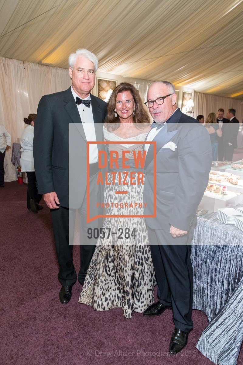 Philip Wilson, Linda Zider, Jon Finck, Opera Ball 2015: Moonlight & Music, War Memorial Opera House. 301 Van Ness Ave, September 11th, 2015,Drew Altizer, Drew Altizer Photography, full-service event agency, private events, San Francisco photographer, photographer California