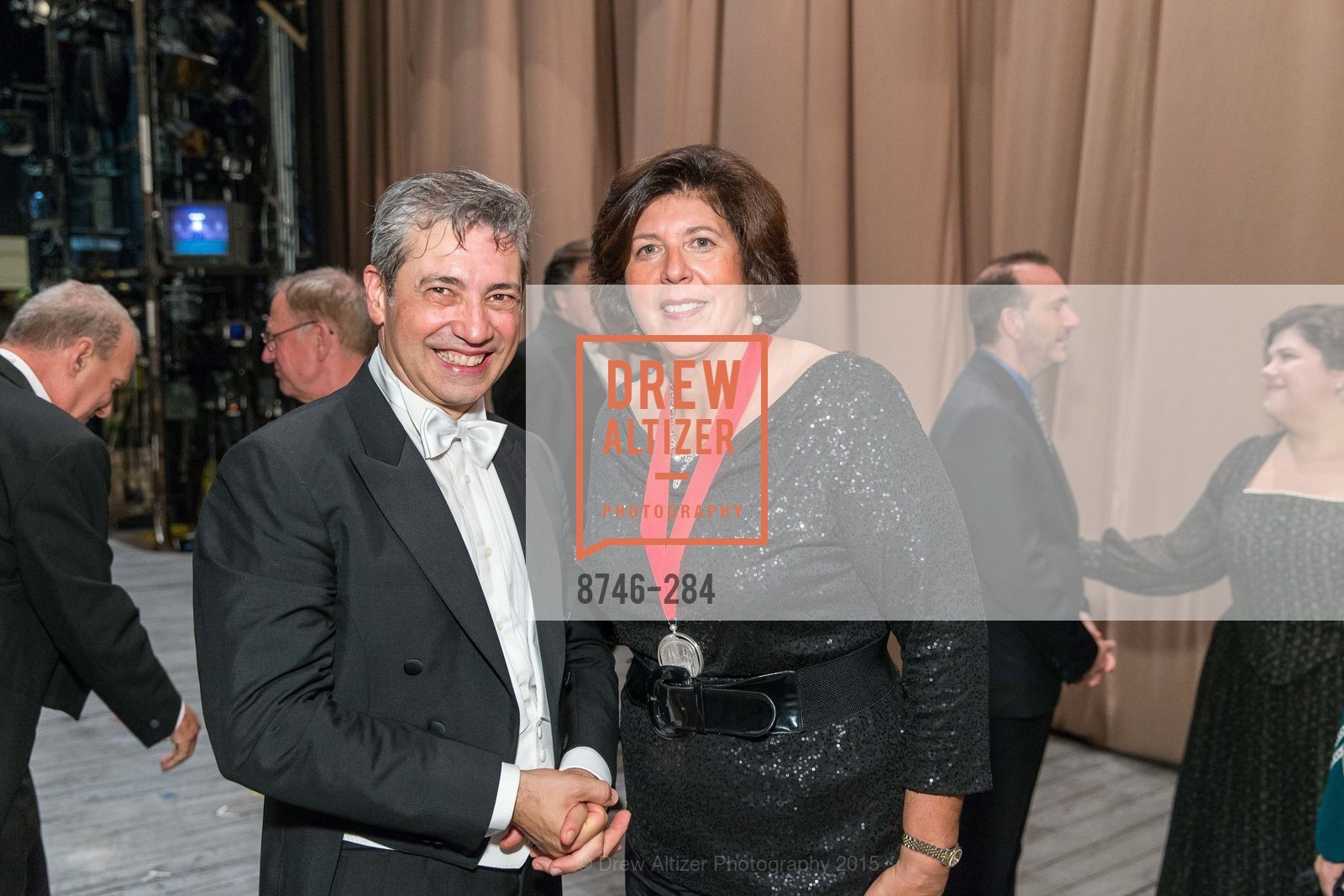 Nicola Luisotti, Francesca Zambello, Opera Ball 2015: Moonlight & Music, War Memorial Opera House. 301 Van Ness Ave, September 11th, 2015,Drew Altizer, Drew Altizer Photography, full-service agency, private events, San Francisco photographer, photographer california