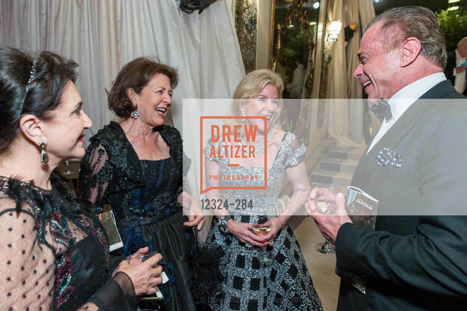 Lily Samii, Linda Kemper, Dede Wilsey, Boaz Mazor, Opera Ball 2015: Moonlight & Music, War Memorial Opera House. 301 Van Ness Ave, September 11th, 2015,Drew Altizer, Drew Altizer Photography, full-service agency, private events, San Francisco photographer, photographer california