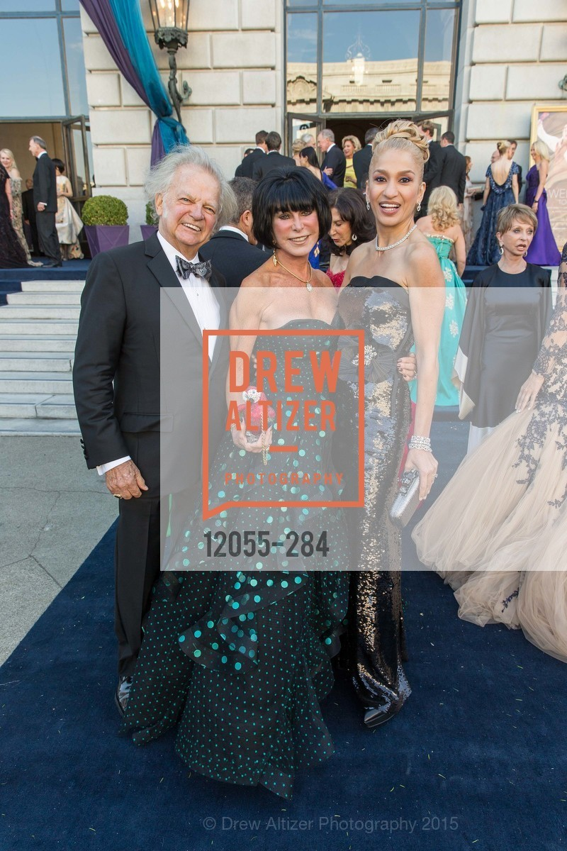 Michael Cabak, Marilyn Cabak, Navid Armstrong, Opera Ball 2015: Moonlight & Music, War Memorial Opera House. 301 Van Ness Ave, September 11th, 2015,Drew Altizer, Drew Altizer Photography, full-service agency, private events, San Francisco photographer, photographer california