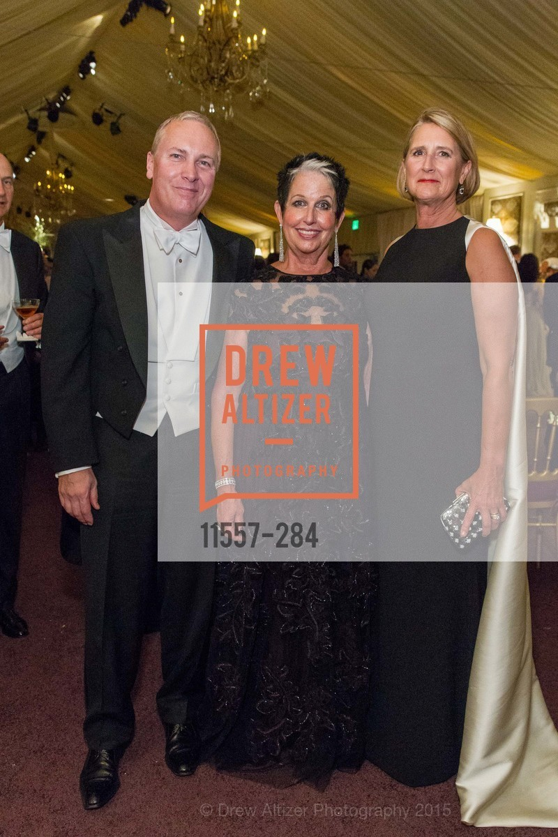 Bernardino Pistillo, Karen Kubin, Priscilla Geeslin, Opera Ball 2015: Moonlight & Music, War Memorial Opera House. 301 Van Ness Ave, September 11th, 2015,Drew Altizer, Drew Altizer Photography, full-service agency, private events, San Francisco photographer, photographer california