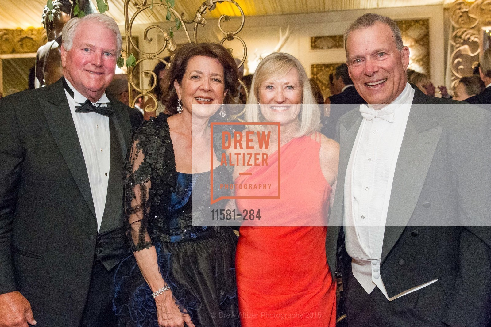 Tom Price, Linda Kemper, Gwen Price, David Gockley, Opera Ball 2015: Moonlight & Music, War Memorial Opera House. 301 Van Ness Ave, September 11th, 2015,Drew Altizer, Drew Altizer Photography, full-service agency, private events, San Francisco photographer, photographer california
