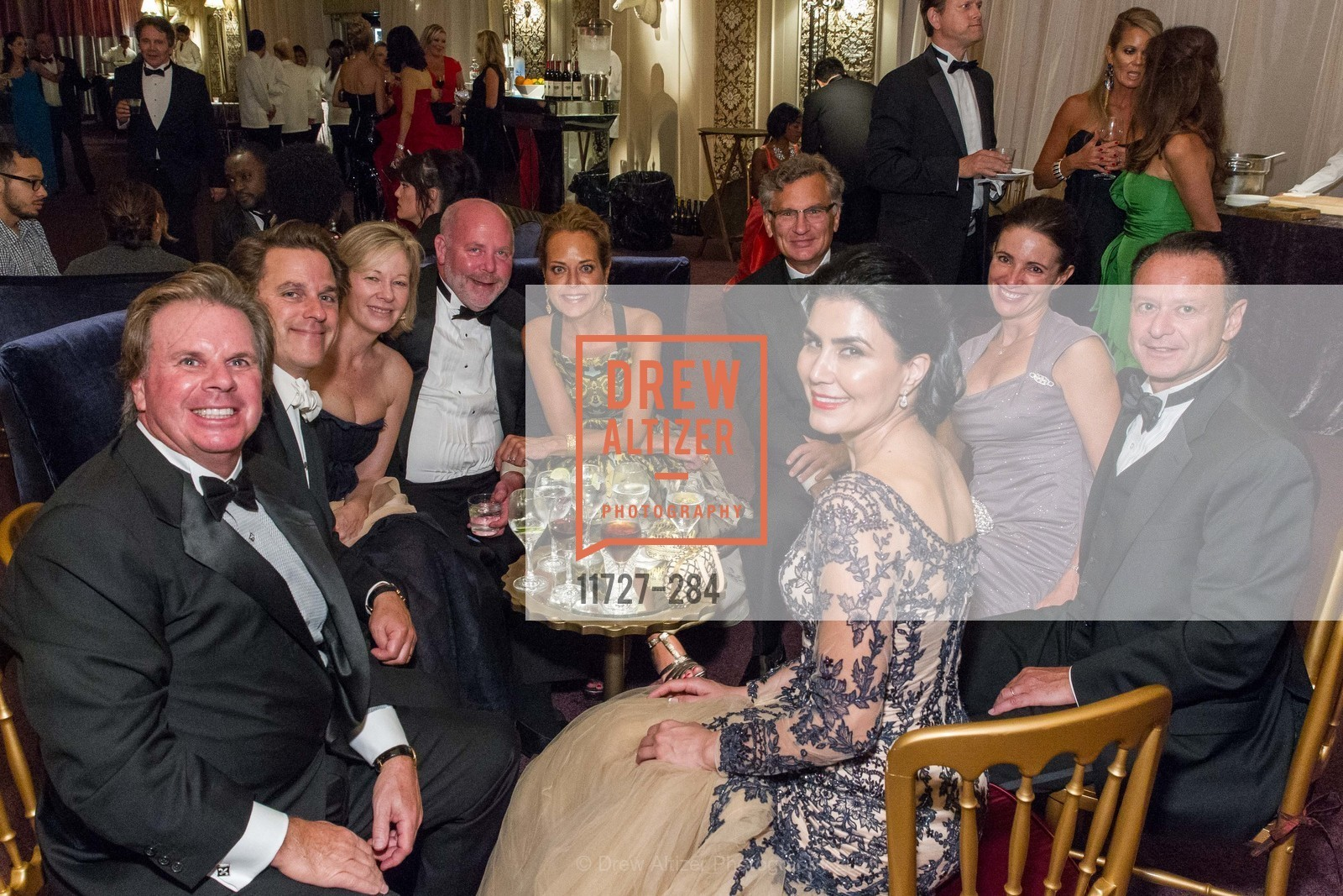 Gary Drysdale, Gregory Malin, Janet Lamkin, Paul Holm, Charlot Malin, Bill Lamkin, Anne Laury, Daniel Laury, Afsaneh Akhtari, Opera Ball 2015: Moonlight & Music, War Memorial Opera House. 301 Van Ness Ave, September 11th, 2015,Drew Altizer, Drew Altizer Photography, full-service agency, private events, San Francisco photographer, photographer california