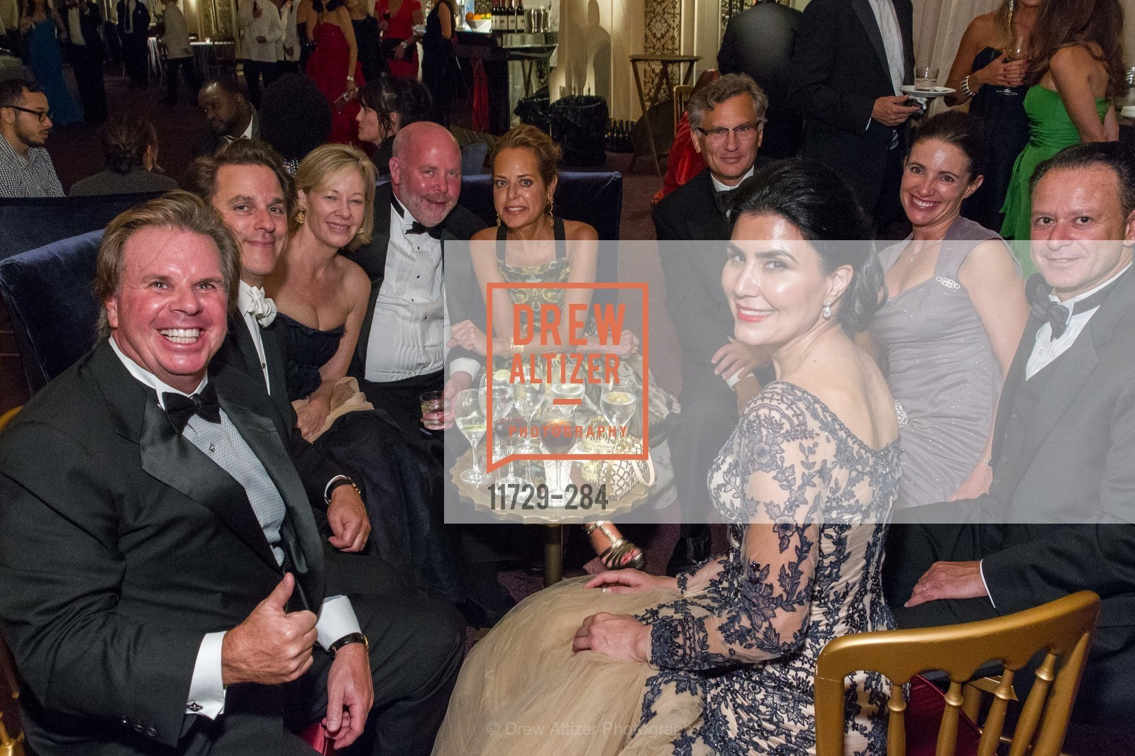 Gary Drysdale, Gregory Malin, Janet Lamkin, Paul Holm, Charlot Malin, Bill Lamkin, Anne Laury, Daniel Laury, Afsaneh Akhtari, Opera Ball 2015: Moonlight & Music, War Memorial Opera House. 301 Van Ness Ave, September 11th, 2015,Drew Altizer, Drew Altizer Photography, full-service event agency, private events, San Francisco photographer, photographer California