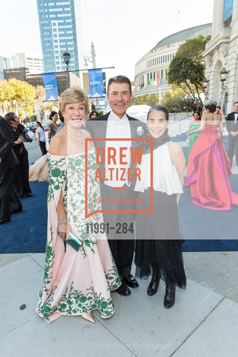 Maria Pitcairn, Robert Beadle, Julie Coplon, Opera Ball 2015: Moonlight & Music, War Memorial Opera House. 301 Van Ness Ave, September 11th, 2015,Drew Altizer, Drew Altizer Photography, full-service agency, private events, San Francisco photographer, photographer california