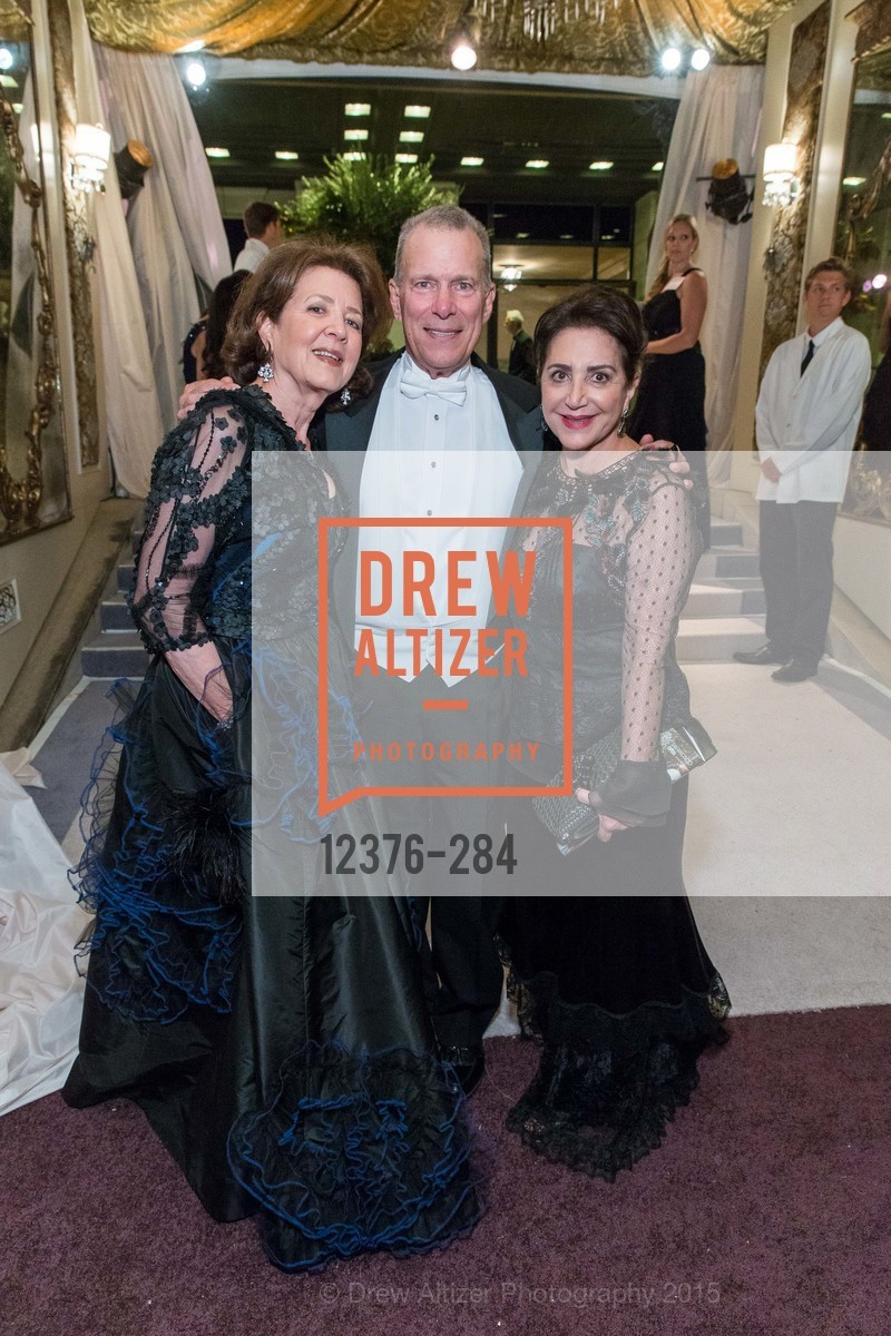 Linda Kemper, David Gockley, Lily Samii, Opera Ball 2015: Moonlight & Music, War Memorial Opera House. 301 Van Ness Ave, September 11th, 2015,Drew Altizer, Drew Altizer Photography, full-service agency, private events, San Francisco photographer, photographer california
