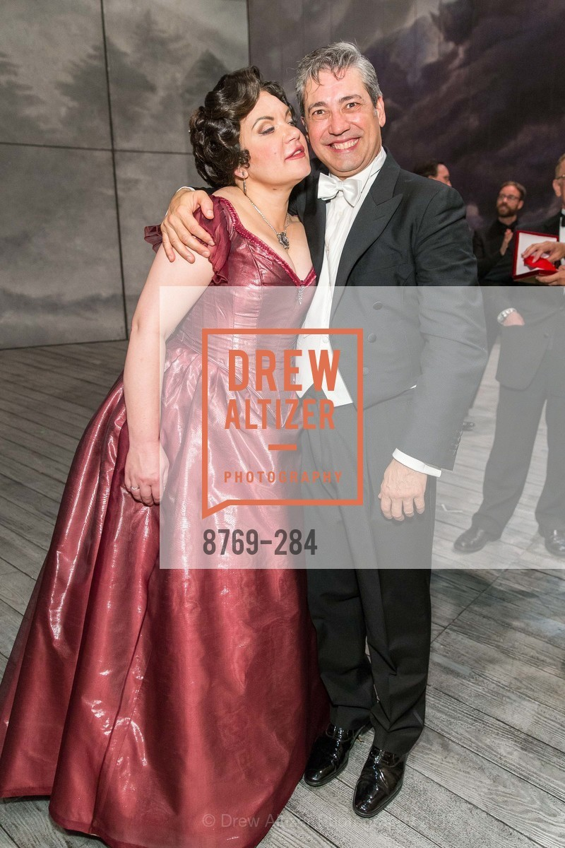 Ekaterina Semenchuk, Nicola Luisotti, Opera Ball 2015: Moonlight & Music, War Memorial Opera House. 301 Van Ness Ave, September 11th, 2015,Drew Altizer, Drew Altizer Photography, full-service agency, private events, San Francisco photographer, photographer california