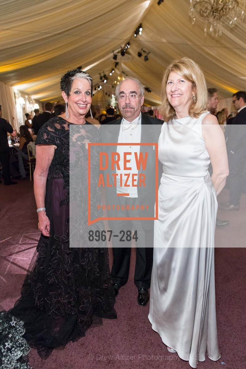 Karen Kubin, Ron Weissman, Emely Weissman, Opera Ball 2015: Moonlight & Music, War Memorial Opera House. 301 Van Ness Ave, September 11th, 2015,Drew Altizer, Drew Altizer Photography, full-service agency, private events, San Francisco photographer, photographer california