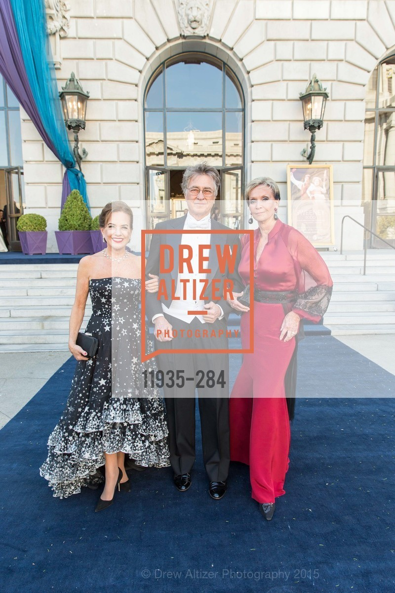 Robin Collins, Leon Huntting, Sallie Huntting, Opera Ball 2015: Moonlight & Music, War Memorial Opera House. 301 Van Ness Ave, September 11th, 2015,Drew Altizer, Drew Altizer Photography, full-service agency, private events, San Francisco photographer, photographer california
