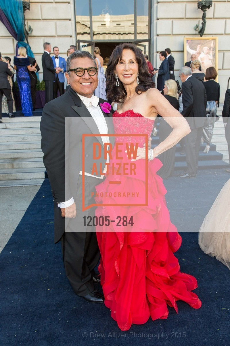 Riccardo Benavides, Carolyn Chandler, Opera Ball 2015: Moonlight & Music, War Memorial Opera House. 301 Van Ness Ave, September 11th, 2015