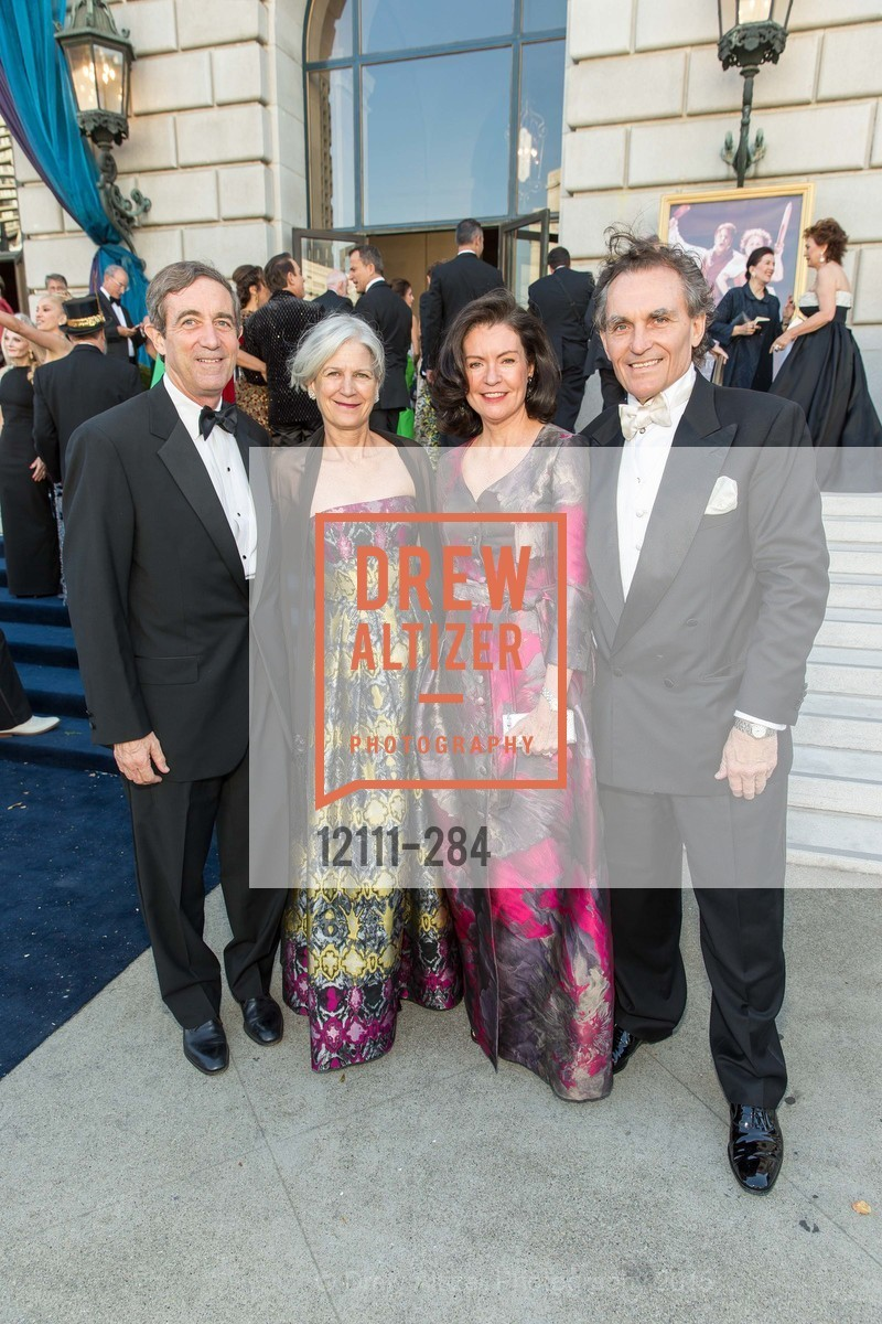 Richard Clark, Hilary Clark, Elizabeth Birka-White, David Birka-White, Opera Ball 2015: Moonlight & Music, War Memorial Opera House. 301 Van Ness Ave, September 11th, 2015,Drew Altizer, Drew Altizer Photography, full-service agency, private events, San Francisco photographer, photographer california