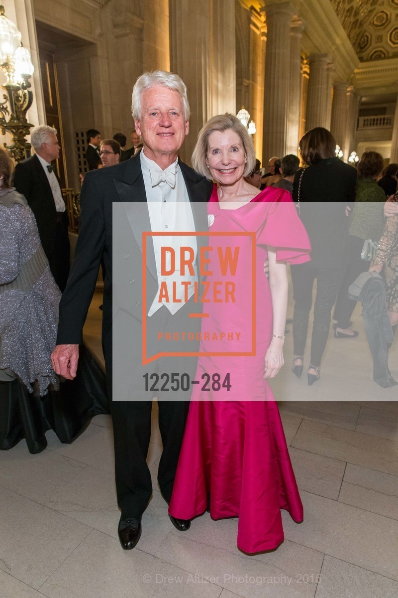 Klaus Murer, Barbara Traisman, Opera Ball 2015: Moonlight & Music, War Memorial Opera House. 301 Van Ness Ave, September 11th, 2015,Drew Altizer, Drew Altizer Photography, full-service agency, private events, San Francisco photographer, photographer california