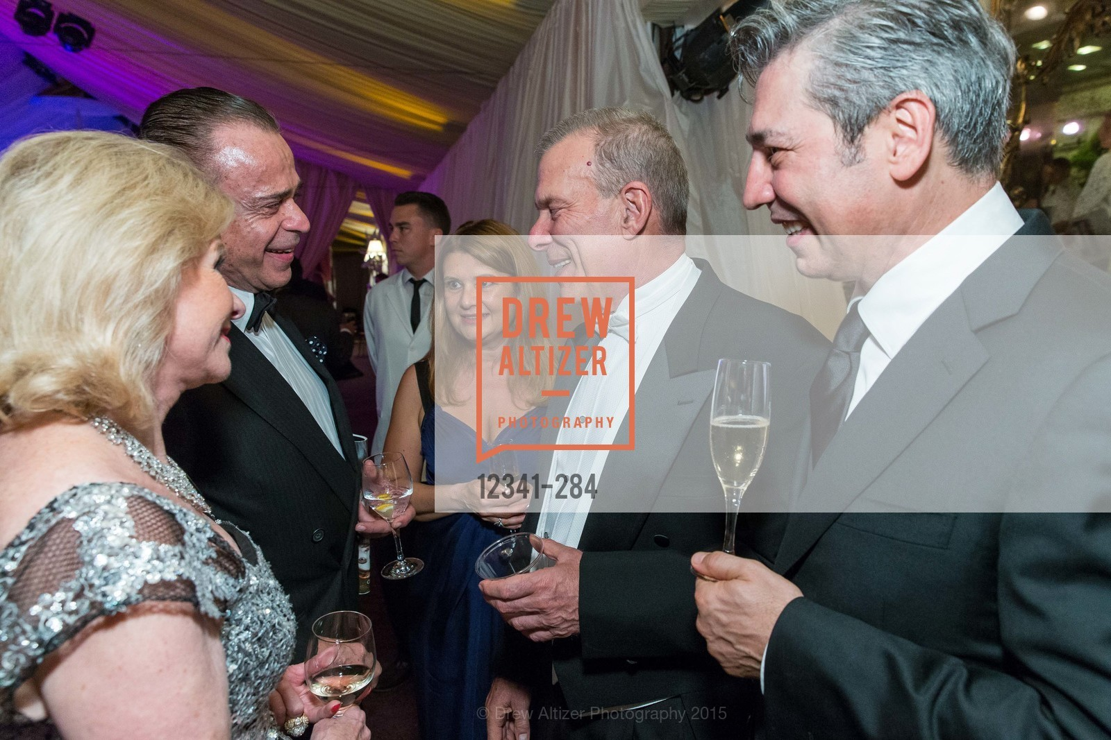 Boaz Mazor, Rita Simonini, David Gockley, Nicola Luisotti, Opera Ball 2015: Moonlight & Music, War Memorial Opera House. 301 Van Ness Ave, September 11th, 2015,Drew Altizer, Drew Altizer Photography, full-service agency, private events, San Francisco photographer, photographer california