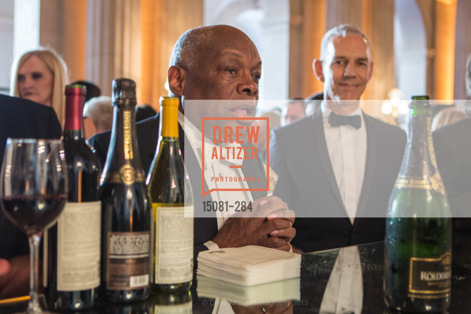 Willie Brown, Opera Ball 2015: Moonlight & Music, War Memorial Opera House. 301 Van Ness Ave, September 11th, 2015,Drew Altizer, Drew Altizer Photography, full-service agency, private events, San Francisco photographer, photographer california