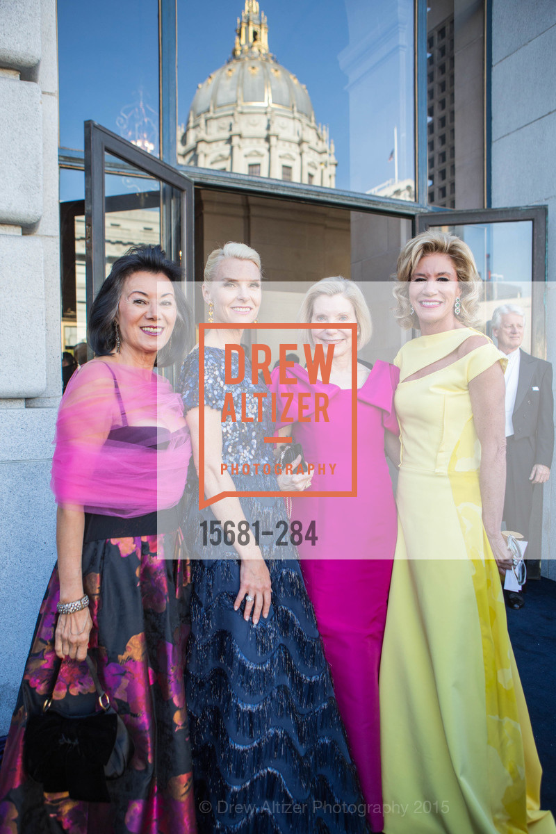 Nafiseh Lindberg, Linle Froeb, Barabar Traisman, Mary Poland, Opera Ball 2015: Moonlight & Music, War Memorial Opera House. 301 Van Ness Ave, September 11th, 2015,Drew Altizer, Drew Altizer Photography, full-service event agency, private events, San Francisco photographer, photographer California