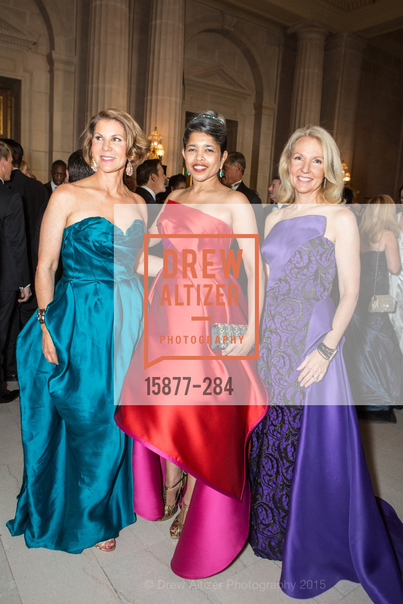 Katie Jarman, Deepa Pakianathan, Ann Girard, Opera Ball 2015: Moonlight & Music, War Memorial Opera House. 301 Van Ness Ave, September 11th, 2015,Drew Altizer, Drew Altizer Photography, full-service agency, private events, San Francisco photographer, photographer california