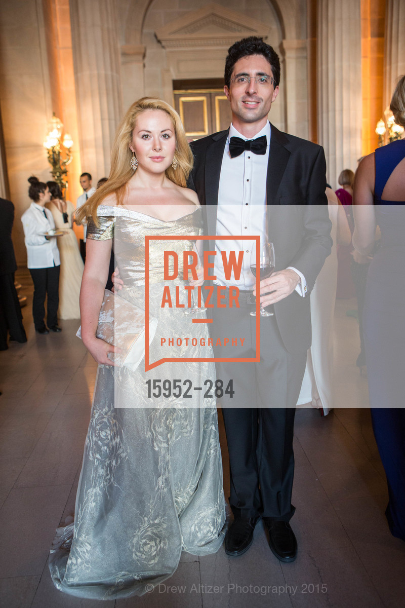 Natasha de Masi, Niccolo de Masi, Opera Ball 2015: Moonlight & Music, War Memorial Opera House. 301 Van Ness Ave, September 11th, 2015,Drew Altizer, Drew Altizer Photography, full-service agency, private events, San Francisco photographer, photographer california