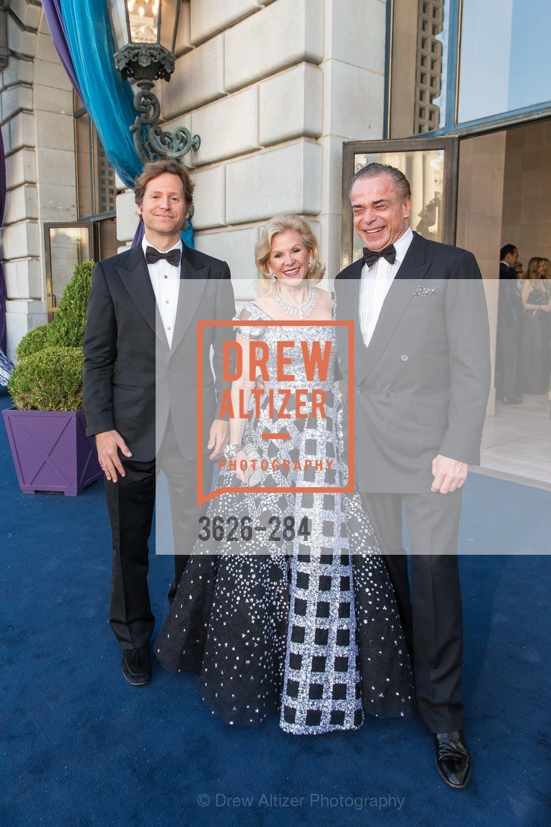 Trevor Traina, Dede Wilsey, Boaz Mazor, Opera Ball 2015: Moonlight & Music, War Memorial Opera House. 301 Van Ness Ave, September 11th, 2015,Drew Altizer, Drew Altizer Photography, full-service agency, private events, San Francisco photographer, photographer california
