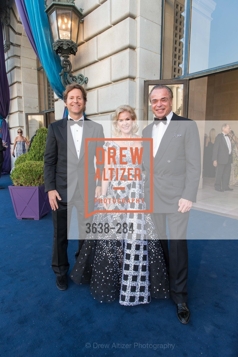 Trevor Traina, Dede Wilsey, Boaz Mazor, Opera Ball 2015: Moonlight & Music, War Memorial Opera House. 301 Van Ness Ave, September 11th, 2015,Drew Altizer, Drew Altizer Photography, full-service event agency, private events, San Francisco photographer, photographer California