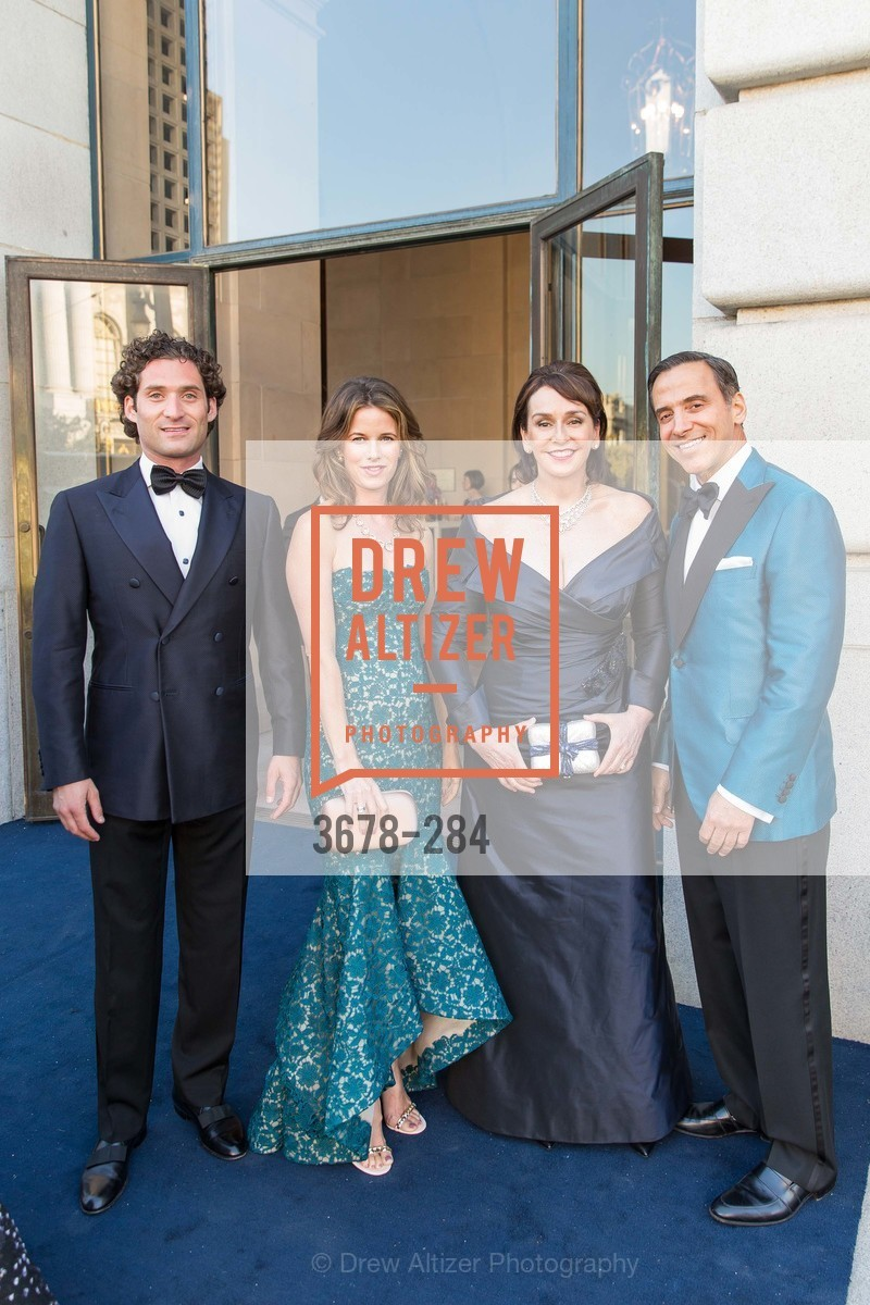 Justin Fichelson, Lindsay Bolton, Elisa Stephens, Alan Malouf, Opera Ball 2015: Moonlight & Music, War Memorial Opera House. 301 Van Ness Ave, September 11th, 2015,Drew Altizer, Drew Altizer Photography, full-service agency, private events, San Francisco photographer, photographer california