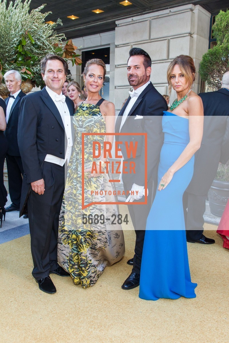 Gregory Malin, Charlot Malin, Giovanni Mattera, Sabrina Baldieri, Opera Ball 2015: Moonlight & Music, War Memorial Opera House. 301 Van Ness Ave, September 11th, 2015,Drew Altizer, Drew Altizer Photography, full-service agency, private events, San Francisco photographer, photographer california