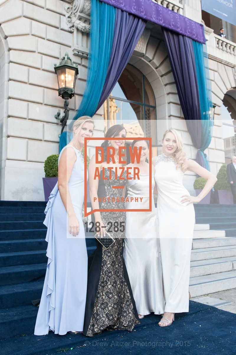 Lauren Groff, Shannon Eliot, Rachel Lem Bier, Laurie Diab, San Francisco Opera's BRAVO! CLUB Opening Night Gala, War Memorial Opera House. 301 Van Ness Ave, September 11th, 2015,Drew Altizer, Drew Altizer Photography, full-service agency, private events, San Francisco photographer, photographer california