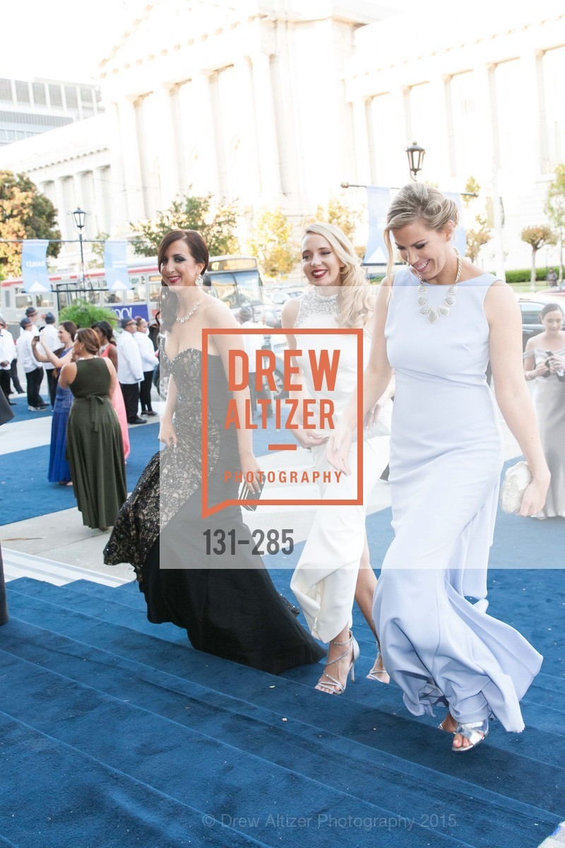 Shannon Eliot, Laurie Diab, Lauren Groff, San Francisco Opera's BRAVO! CLUB Opening Night Gala, War Memorial Opera House. 301 Van Ness Ave, September 11th, 2015,Drew Altizer, Drew Altizer Photography, full-service event agency, private events, San Francisco photographer, photographer California