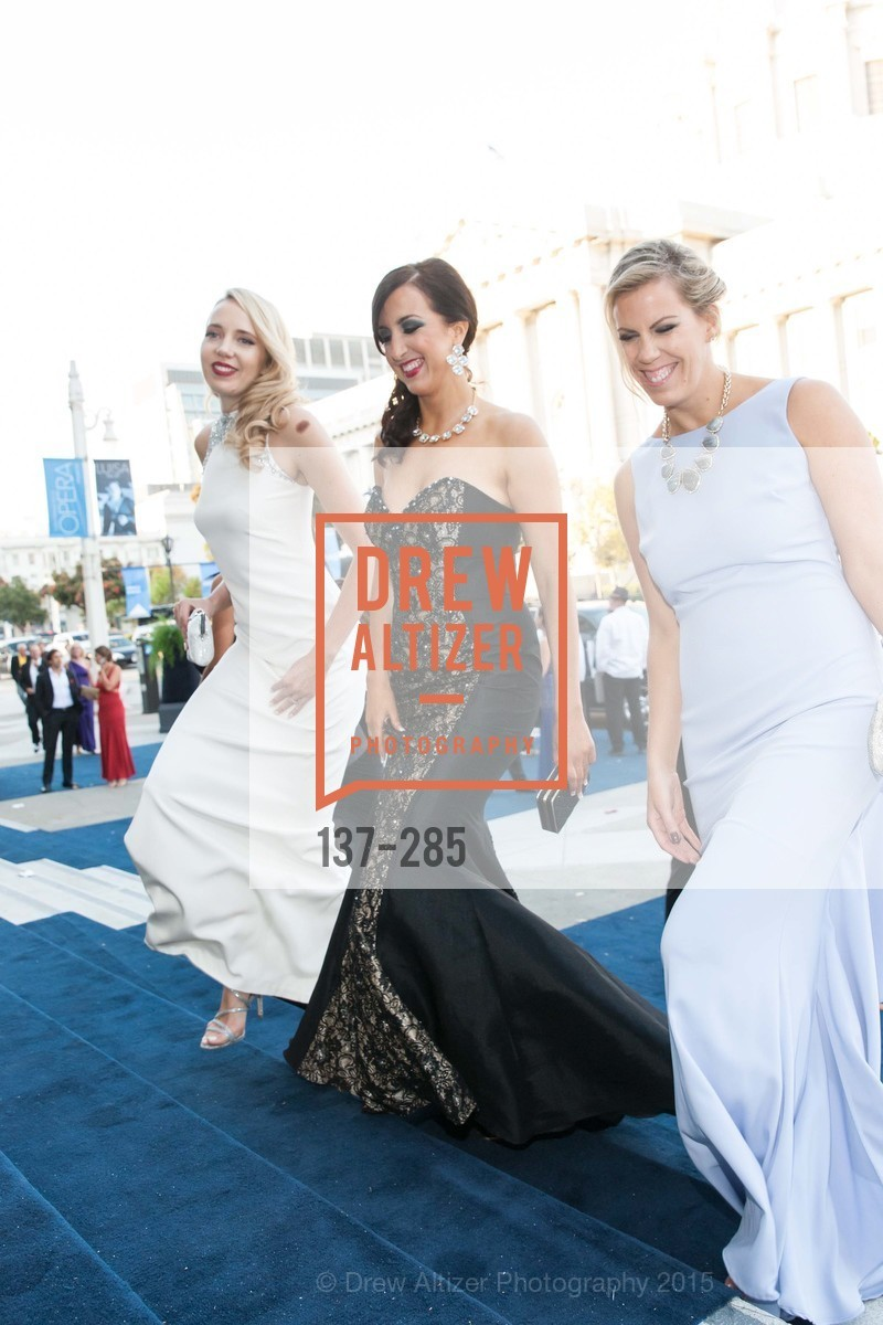 Shannon Eliot, Laurie Diab, Lauren Groff, San Francisco Opera's BRAVO! CLUB Opening Night Gala, War Memorial Opera House. 301 Van Ness Ave, September 11th, 2015,Drew Altizer, Drew Altizer Photography, full-service agency, private events, San Francisco photographer, photographer california