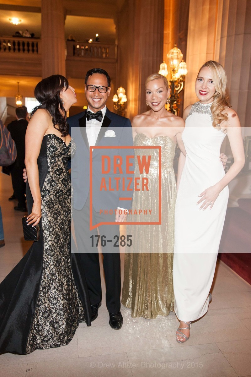 Shannon Eliot, Hadley Wilson, Julia Mathis, Laurie Diab, San Francisco Opera's BRAVO! CLUB Opening Night Gala, War Memorial Opera House. 301 Van Ness Ave, September 11th, 2015,Drew Altizer, Drew Altizer Photography, full-service agency, private events, San Francisco photographer, photographer california