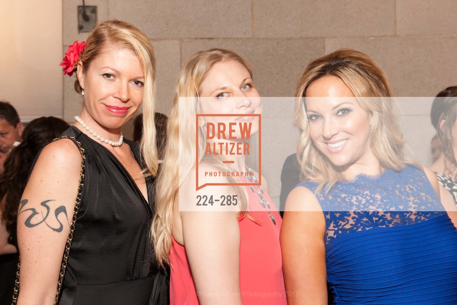 Casey Gourlay, Veronika Gold, San Francisco Opera's BRAVO! CLUB Opening Night Gala, War Memorial Opera House. 301 Van Ness Ave, September 11th, 2015