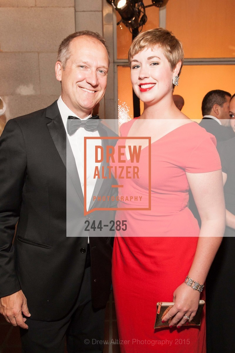 Charles Perl, Sarah Lee, San Francisco Opera's BRAVO! CLUB Opening Night Gala, War Memorial Opera House. 301 Van Ness Ave, September 11th, 2015,Drew Altizer, Drew Altizer Photography, full-service agency, private events, San Francisco photographer, photographer california