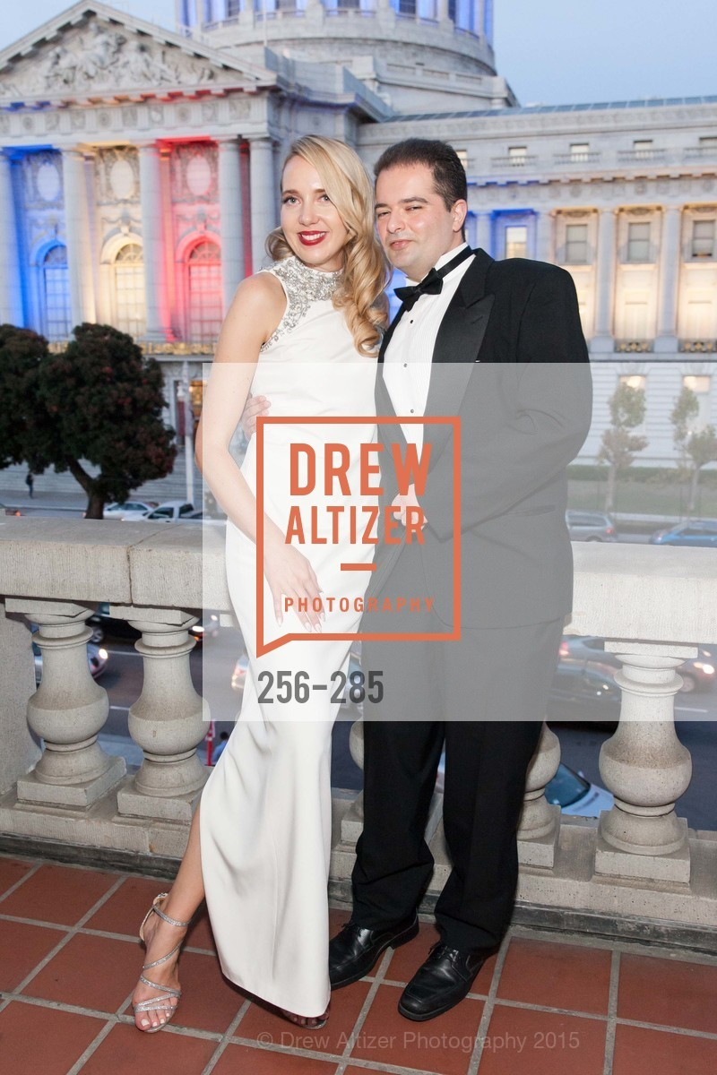 Laurie Diab, Wael Diab, San Francisco Opera's BRAVO! CLUB Opening Night Gala, War Memorial Opera House. 301 Van Ness Ave, September 11th, 2015,Drew Altizer, Drew Altizer Photography, full-service agency, private events, San Francisco photographer, photographer california