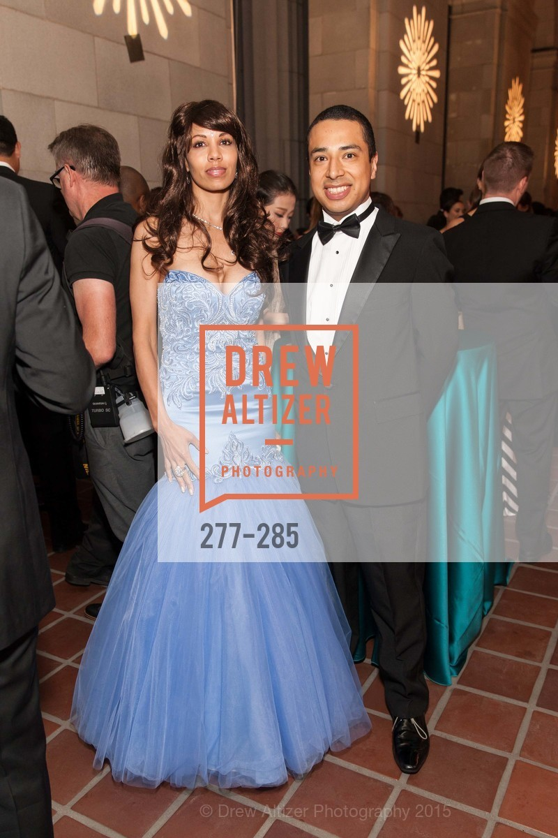 Xaviera Batista, Walter Canas, San Francisco Opera's BRAVO! CLUB Opening Night Gala, War Memorial Opera House. 301 Van Ness Ave, September 11th, 2015,Drew Altizer, Drew Altizer Photography, full-service agency, private events, San Francisco photographer, photographer california