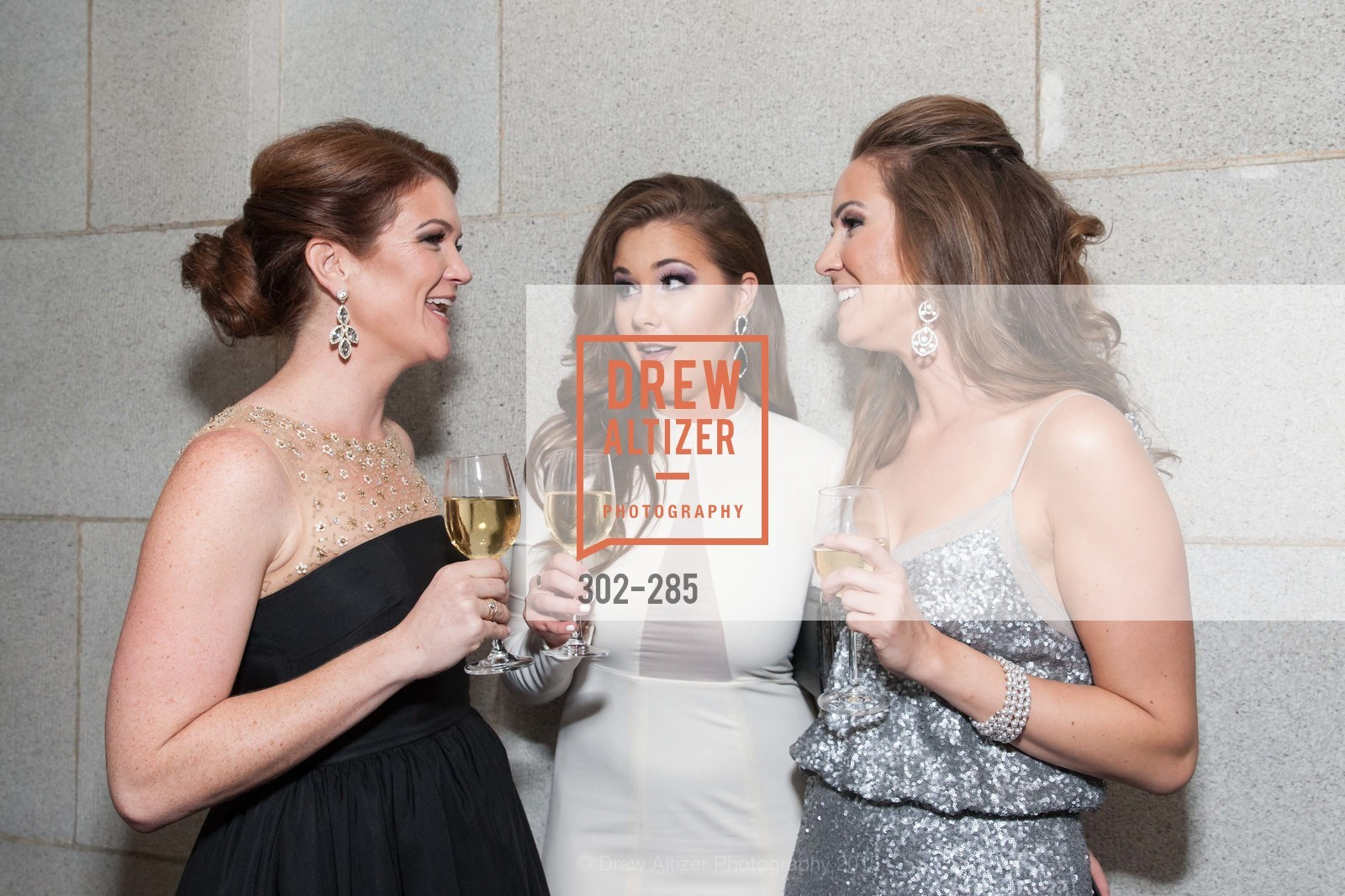 Emily Brown, Bailey Haw, Megan Graf, San Francisco Opera's BRAVO! CLUB Opening Night Gala, War Memorial Opera House. 301 Van Ness Ave, September 11th, 2015,Drew Altizer, Drew Altizer Photography, full-service agency, private events, San Francisco photographer, photographer california