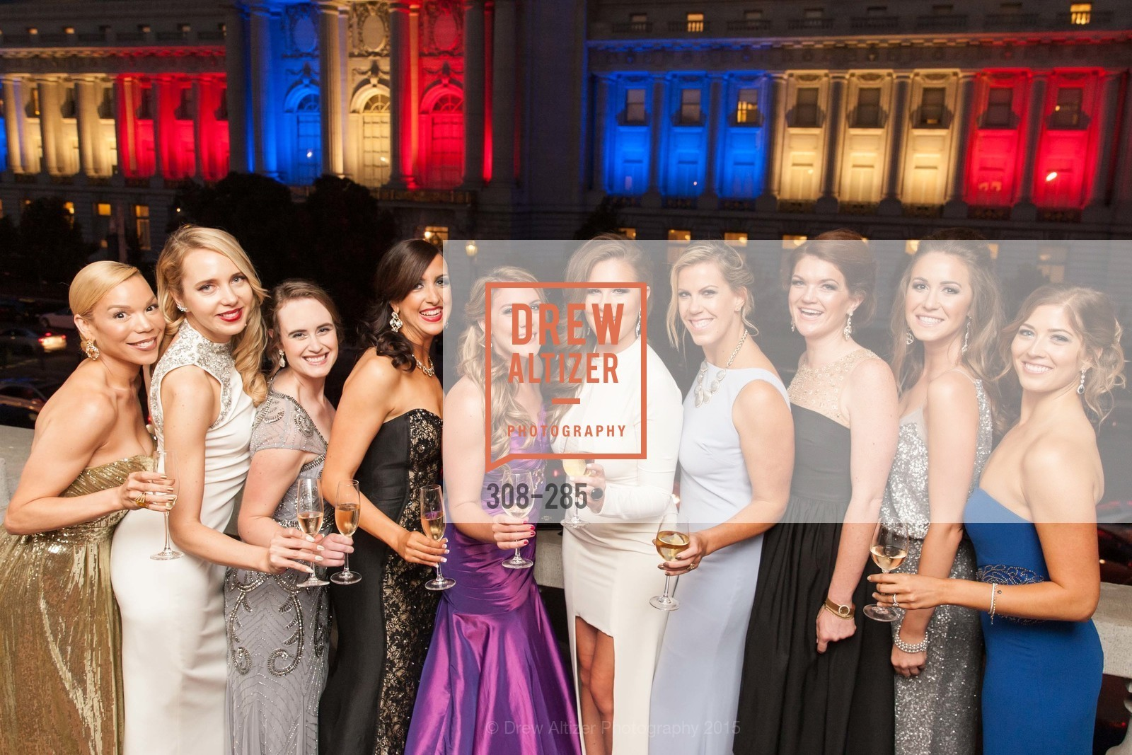 Julia Mathis, Laurie Diab, Susan Walker, Shannon Eliot, Kari Lincks, Bailey Haws, Lauren Groff, Emily Brown, Megan Graf, Victoria Weatherford, San Francisco Opera's BRAVO! CLUB Opening Night Gala, War Memorial Opera House. 301 Van Ness Ave, September 11th, 2015,Drew Altizer, Drew Altizer Photography, full-service agency, private events, San Francisco photographer, photographer california
