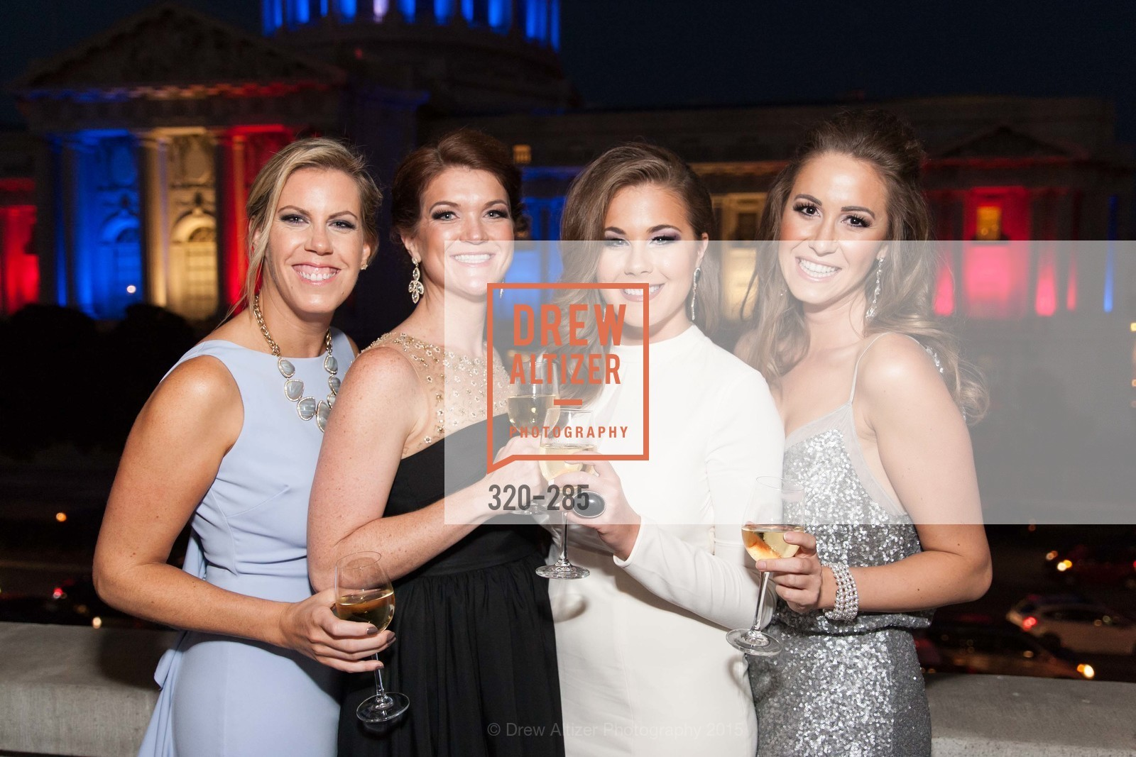 Lauren Groff, Emily Brown, Bailey Haws, Megan Graf, San Francisco Opera's BRAVO! CLUB Opening Night Gala, War Memorial Opera House. 301 Van Ness Ave, September 11th, 2015,Drew Altizer, Drew Altizer Photography, full-service agency, private events, San Francisco photographer, photographer california