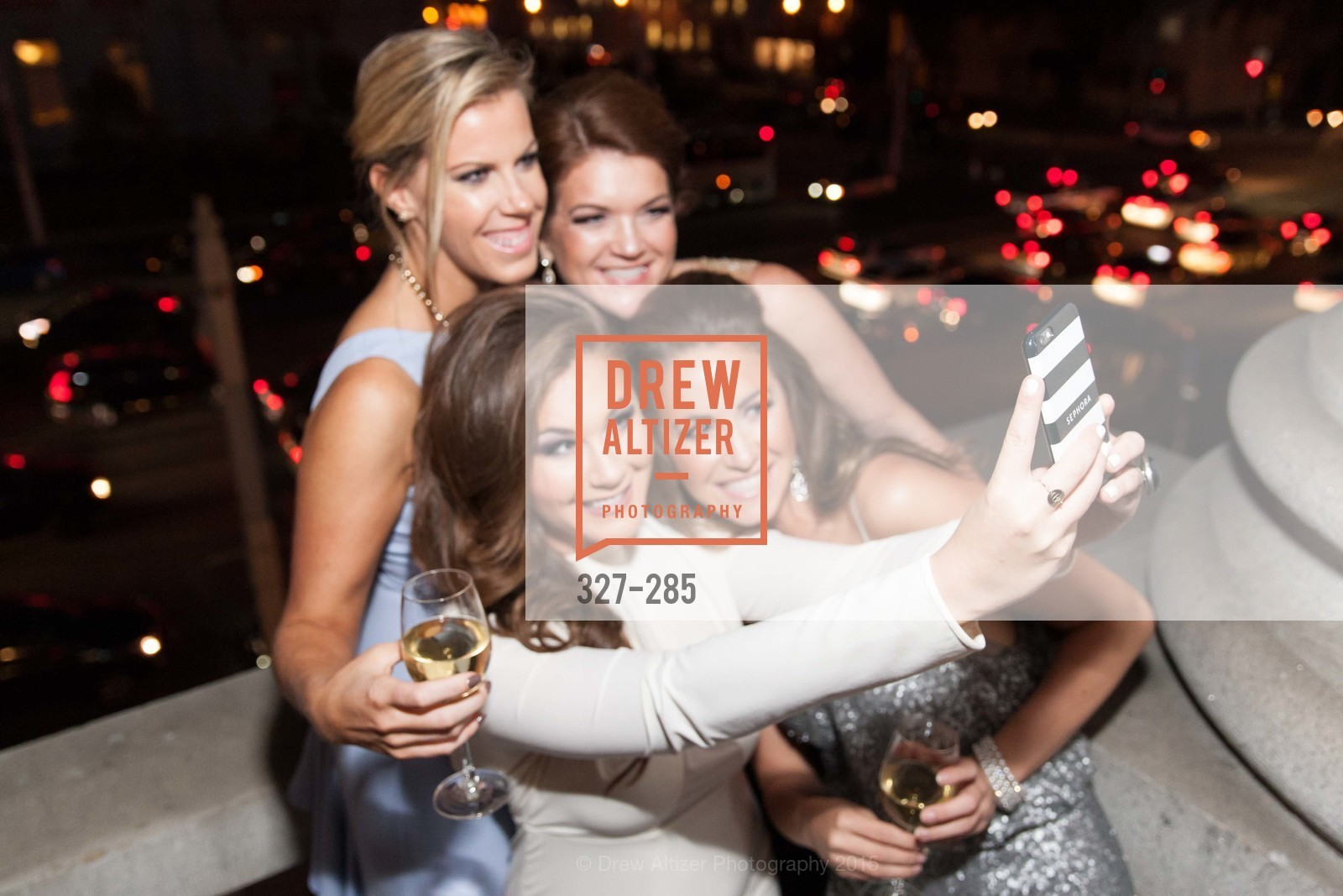 Lauren Graff, Bailey Haws, Emily Brown, Megan Graff, San Francisco Opera's BRAVO! CLUB Opening Night Gala, War Memorial Opera House. 301 Van Ness Ave, September 11th, 2015,Drew Altizer, Drew Altizer Photography, full-service event agency, private events, San Francisco photographer, photographer California