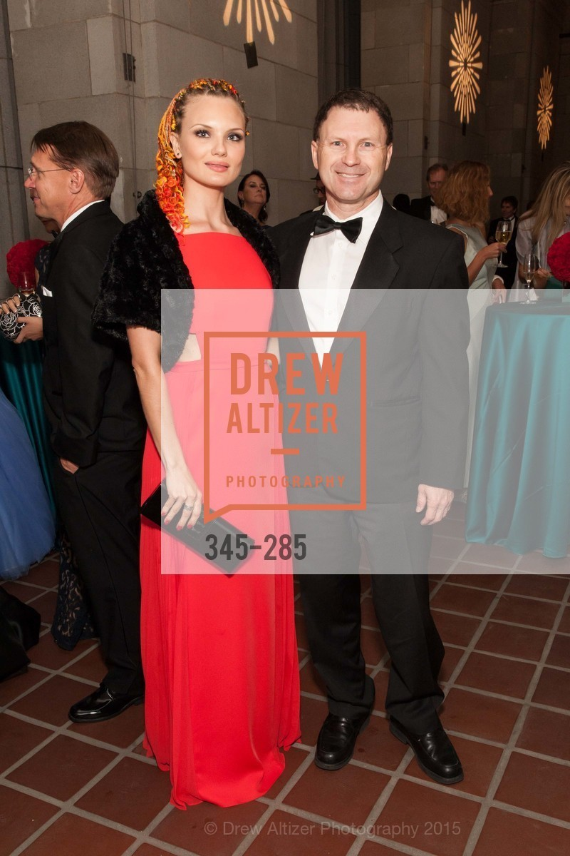 Katrina Ponina, Jack Pershing, San Francisco Opera's BRAVO! CLUB Opening Night Gala, War Memorial Opera House. 301 Van Ness Ave, September 11th, 2015,Drew Altizer, Drew Altizer Photography, full-service agency, private events, San Francisco photographer, photographer california