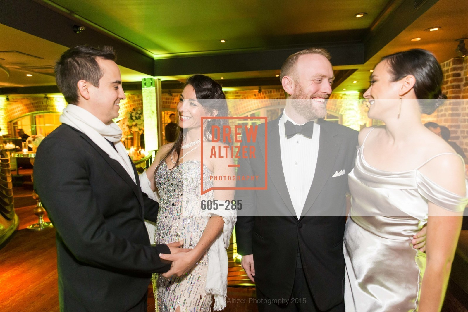 Isaac Safier, Rebecca Feigelson, Adam Arthur Bier, Rachel Lem Bier, San Francisco Opera's BRAVO! CLUB Opening Night Gala, War Memorial Opera House. 301 Van Ness Ave, September 11th, 2015,Drew Altizer, Drew Altizer Photography, full-service agency, private events, San Francisco photographer, photographer california