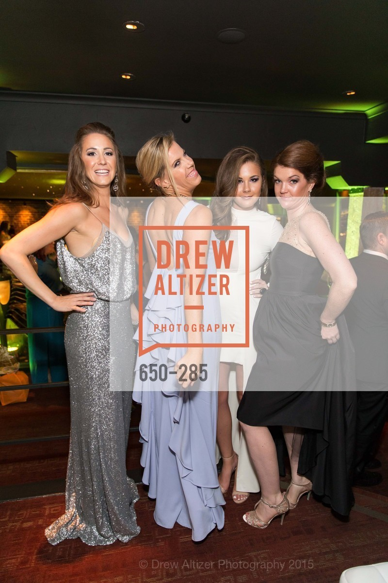 Megan Graf, Lauren Groff, Bailey Haws, Emily Brown, San Francisco Opera's BRAVO! CLUB Opening Night Gala, War Memorial Opera House. 301 Van Ness Ave, September 11th, 2015,Drew Altizer, Drew Altizer Photography, full-service agency, private events, San Francisco photographer, photographer california