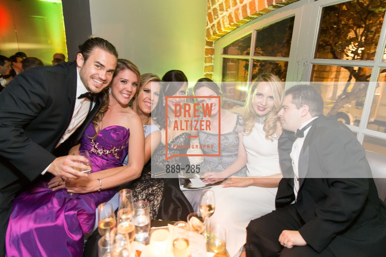 Kari Lincks, Lauren Groff, Shannon Eliot, Susan Walker, Lauren Diab, Wael Diab, San Francisco Opera's BRAVO! CLUB Opening Night Gala, War Memorial Opera House. 301 Van Ness Ave, September 11th, 2015,Drew Altizer, Drew Altizer Photography, full-service agency, private events, San Francisco photographer, photographer california
