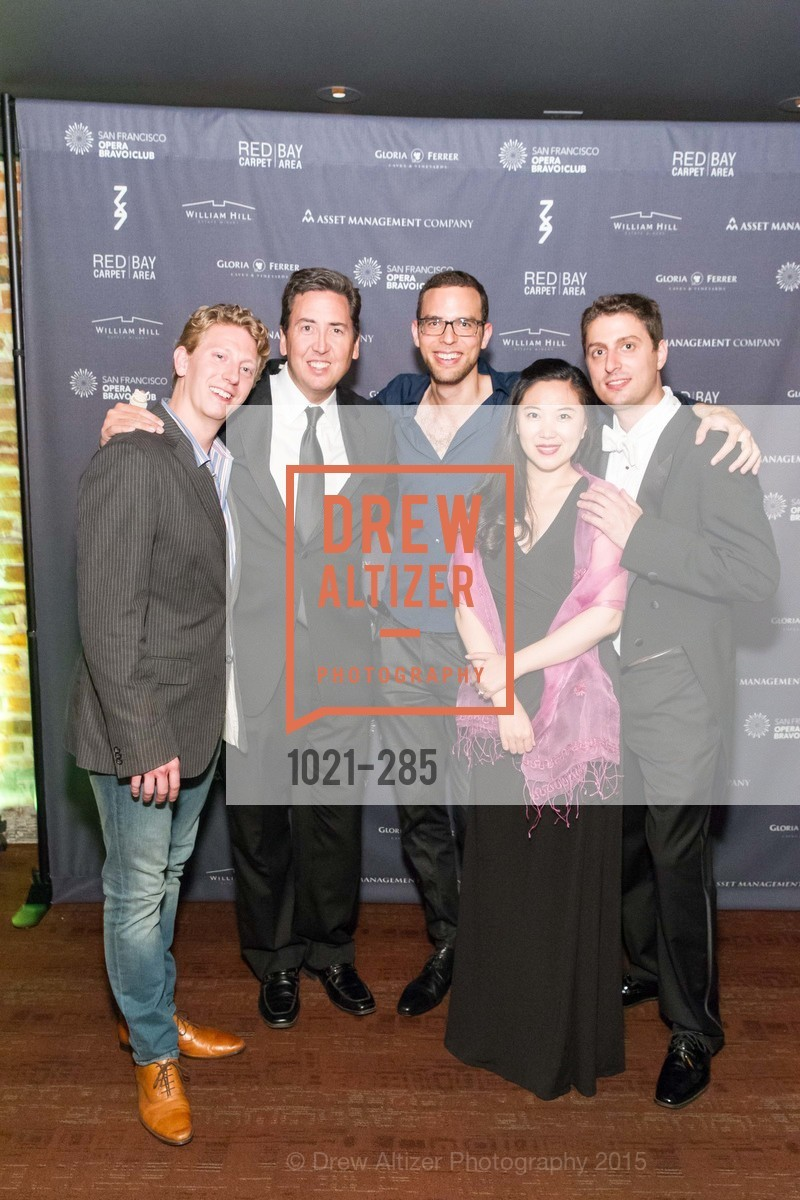 Dan Cameron, John Churchwell, Ronnie Michael Greenberg, Noah Lindquist, San Francisco Opera's BRAVO! CLUB Opening Night Gala, War Memorial Opera House. 301 Van Ness Ave, September 11th, 2015,Drew Altizer, Drew Altizer Photography, full-service agency, private events, San Francisco photographer, photographer california