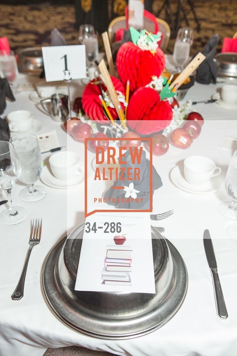 Atmosphere, CCSF Basic Skills Luncheon, Fairmont Hotel, Grand Ballroom, September 15th, 2015