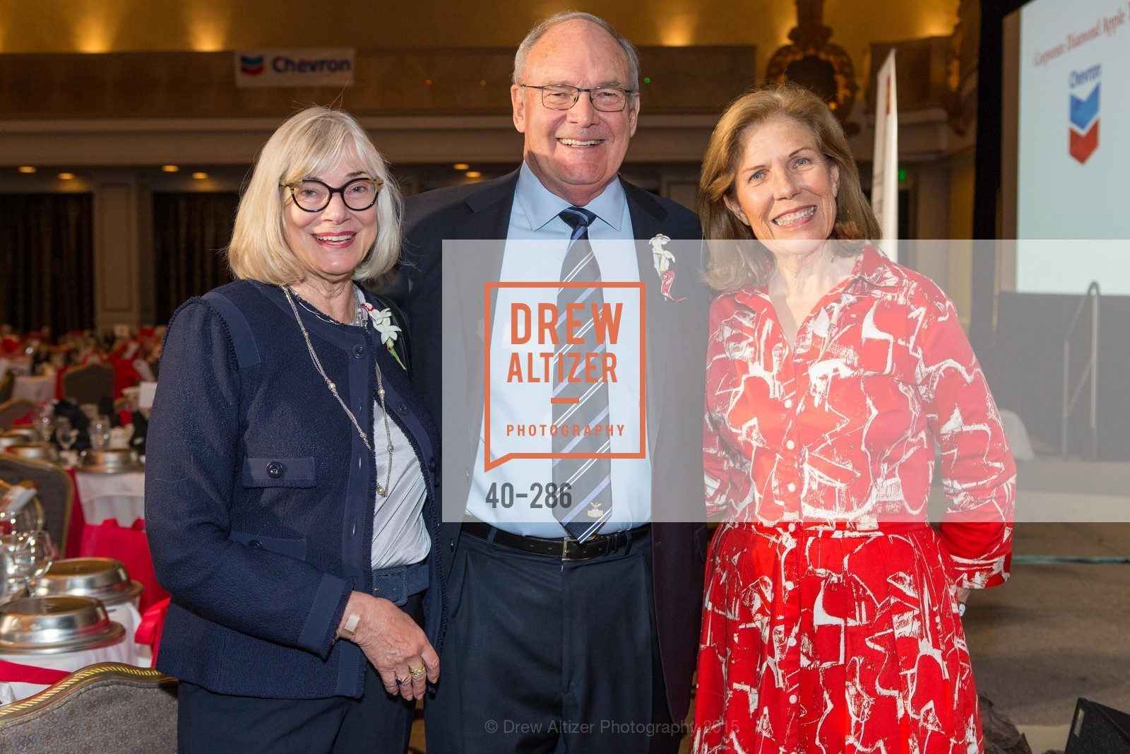 Barbara Eschbach, Ed Eschbach, Sheila Larsen, CCSF Basic Skills Luncheon, Fairmont Hotel, Grand Ballroom, September 15th, 2015,Drew Altizer, Drew Altizer Photography, full-service agency, private events, San Francisco photographer, photographer california